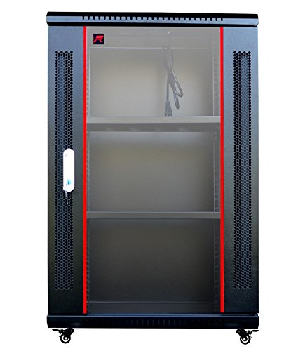 18U Wall Mount It Server Rack Cabinet Enclosure 24