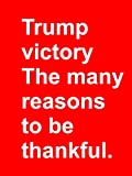 Clip: Trump victory - the many reasons to be thankful