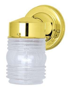 Westinghouse 6688400 One-Light Jelly Jar