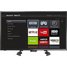 """Sharp 32"""" LED 1080p Smart HDTV Roku TV"""