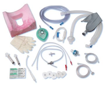 Adult Anesthesia-Medline's Super Circuit - 40'' Pediatric Tubing, Gas Sampling Elbow, Parallel Wye, 1 Filter, 1 Liter Latex Free Breathing Bag, 10' Gas Sampling Line - 20 Per Case - Model DYNJAP0010 by Medline