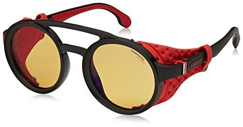 Carrera-5046s-Oval-Sunglasses-MTT-Black-49-mm
