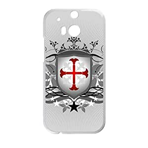 Simple Badge High Quality Custom Protective Phone Case Cove For HTC M8