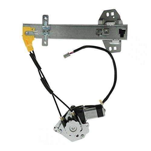 - Power Window Regulator & Motor Rear RH Right Passenger Side for 94-97 Accord