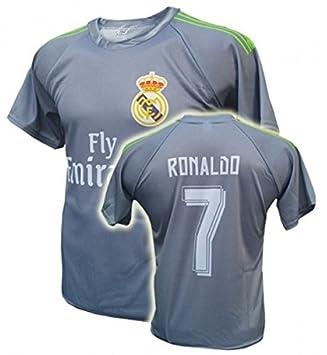 Uniforme Real Madrid Equipo de fútbol Replica Ronaldo: Amazon.es: Deportes y aire libre