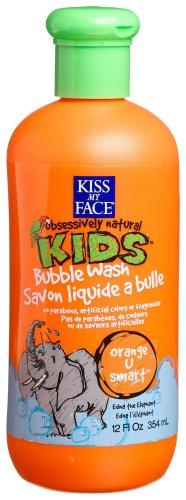 Kiss My Face Kids Bubble Wash, Orange U Smart 12 oz