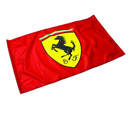 Scuderia Ferrari Formula 1 Red Fan Flag