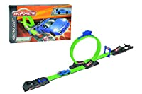 Majorette 212084242 - Rennbahn mit Looping Racing Loop Bahn