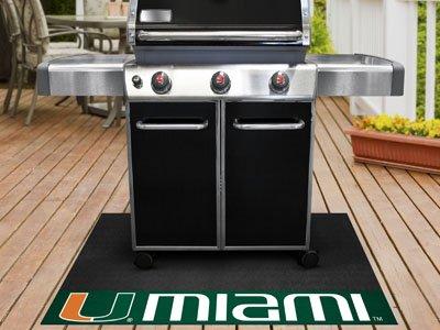 Fanmats University of Miami Grill Mat