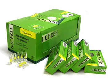 Nicfree Cigarette Filters For Smokers - 80 Packs