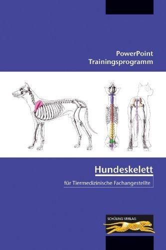PowerPoint Trainingsprogramm - Hundeskelett für Tiermedizinische Fachangestellte, m. CD-ROM von Bell, Brigitte (2012) Broschiert