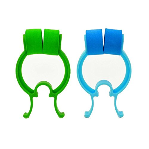 Stop Nosebleeds Epistaxis Clip Nose Bleed Stopper Nasal Clip Treatment,Pack of 2 (Best Treatment For A Bloody Nose)