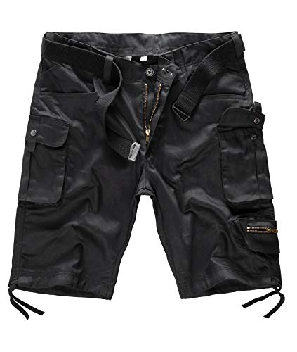 Rock Creek Herren Cargos Shorts mit Gürtel H-171