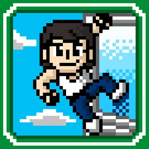 GoGo Tap ! Climber Rush - Retro 8Bit Classic Game