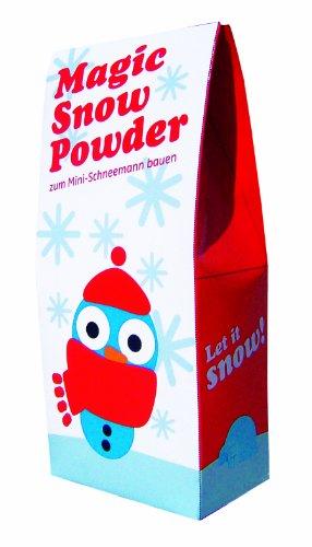 Magic Snow Powder - Magischer Schnee - Geschenkidee Wichtelgeschenk Nikolausgeschenk Weihnachtsgeschenk Kinder Männer Frauen