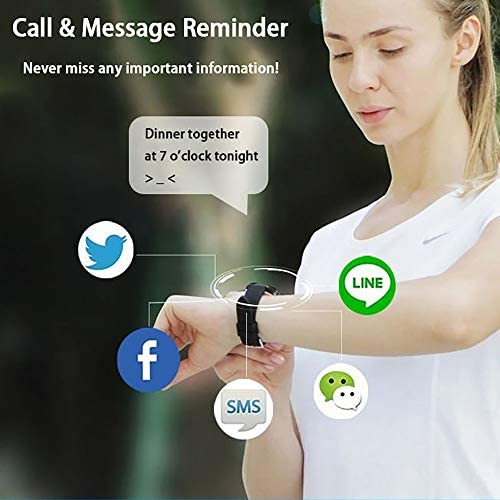 Smart Watch Fitness Tracker for Android iOS Phones,Body Temperature Smartwatch with Heart Rate Sleep Blood Pressure Blood Oxygen Monitor,Smart Watch for Men Women Compatible iPhone Android Samsung. 4