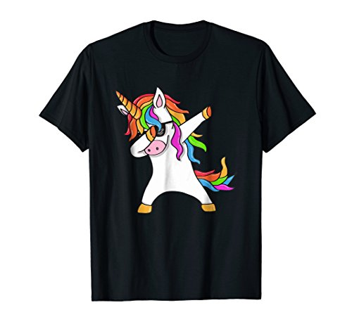 Dabbing Unicorn T-Shirt for Womwn