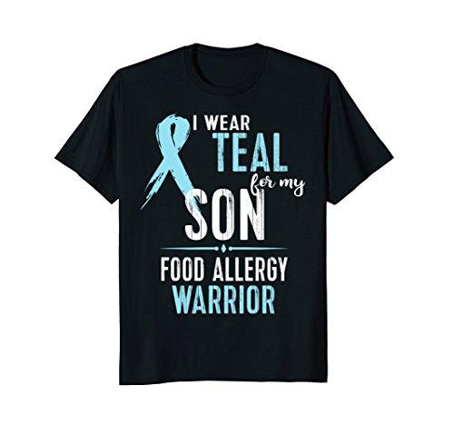 Food Allergy Awareness Shirt Gluten Peanut Milk: ()
