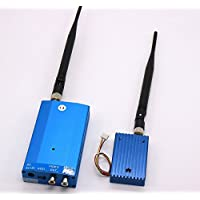 HKSUNKIN Long Distance 1.3GHz 3W Audio Video Transmitter Receiver FPV For RC Helicopter