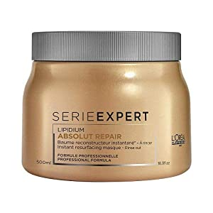 L'Oreal 55521 Professional Serie Expert Absolut Repair Lipidium Masque, 16.90 Ounce