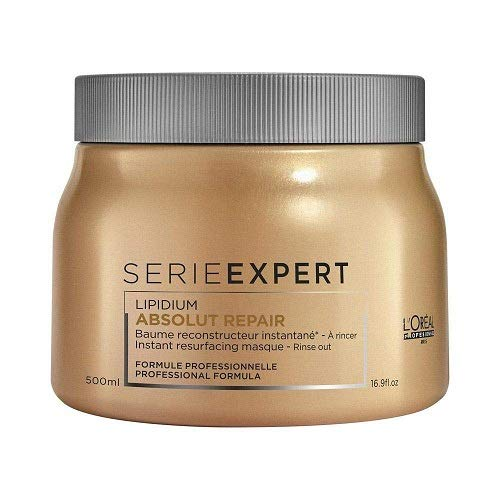 L'Oreal Professional Serie Expert Absolut Repair Lipidium Masque, 16.90 Ounce (Repair Masque)