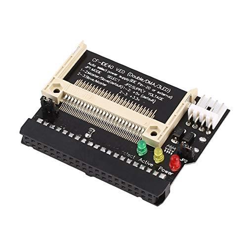 Tivolii CF A 3.5 Hembra Adaptador IDE de Arranque de 40 Pines Tarjeta de conversión Interfaz IDE estándar Modo True-IDE