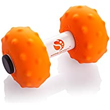soma system Portable Muscle Massage Roller [Soft]. Excellent Tool for Self-Myofascial Release, Deep Tissue, Trigger Point, and Physical Therapy, Neck and Back Pain Relief, Cross Fit, Pilates