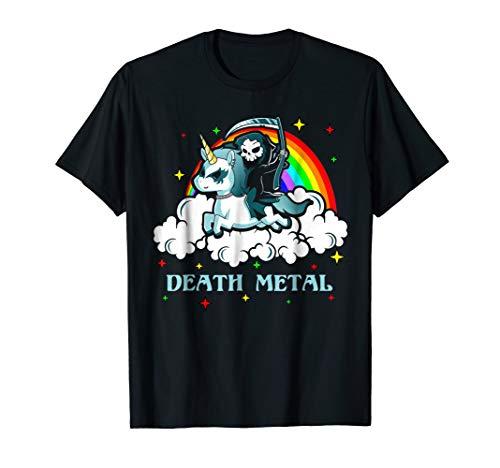 Unicorn Death Metal Rocker Go To Hell Shirt ()