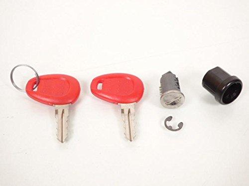 Kappa K500 Top Case Barrel Lock Set for K26, K28, K35, K40, K46, K48, K480, K49, K52, K53, K961 and Suitcases K21N, K33