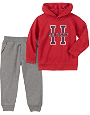 Tommy Hilfiger Baby Boys 2 Pieces Pullover Pant Set