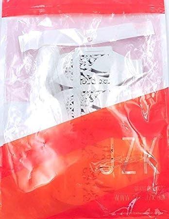 JZK 50 Perlato bianco sposa sposo scatolina portaconfetti scatola bomboniera segnaposto per matrimonio anniversario addio al nubilato