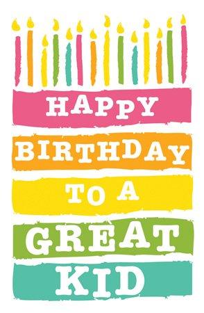 Amazon Postcards Birthday Kids Happy Birthday To A