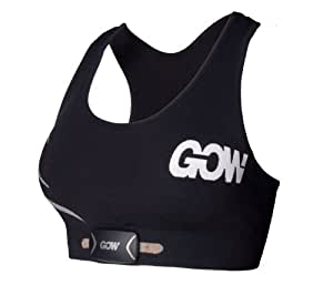 Gow Women's Sports Bra M1, Black, Small