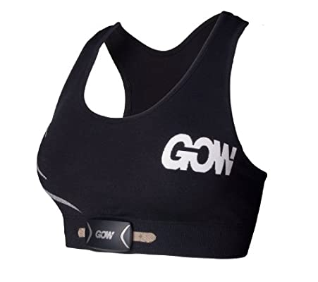 GOW Women's M1 Sports Bra, Black, X-Small
