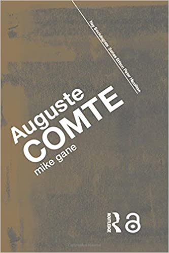 auguste comte contribution to sociology