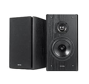 Creative 70EM911000000 EMU XM7 Premium Passive Bookshelf Speaker High-Performance, Black