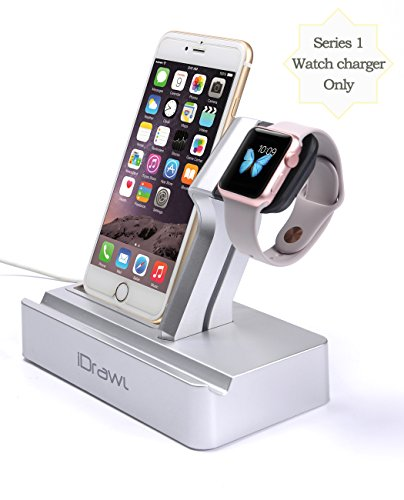 apple watch stand apple watch charger iphone docking. Black Bedroom Furniture Sets. Home Design Ideas