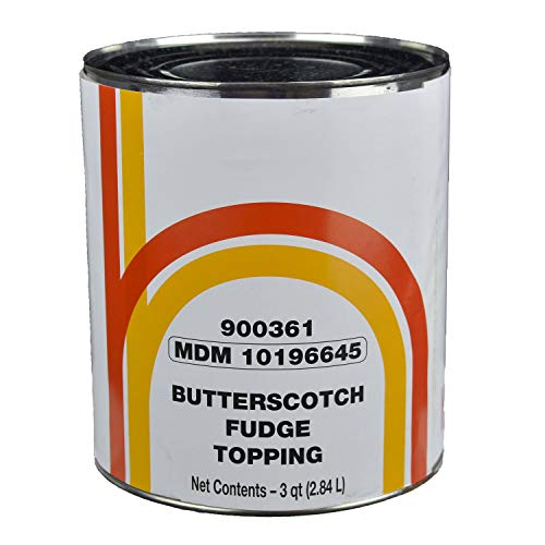 (Henry and Henry Butterscotch Fudge Topping, Number 10 can - 6 cans per case.)