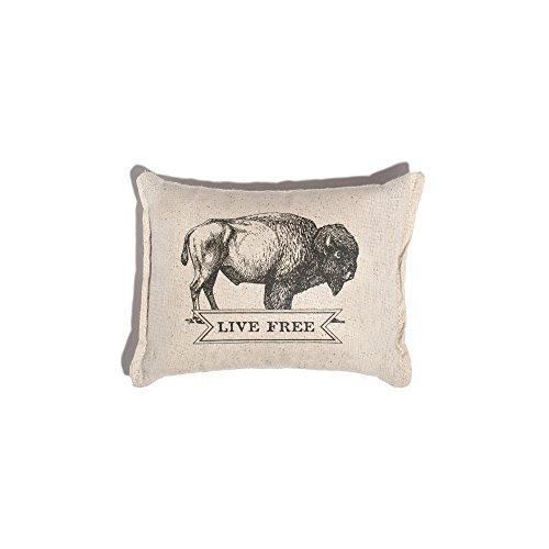 Izola Decorative Balsam Fir Scented Throw Pillow - Live Free (Into Turn That For Couches Beds Sale)