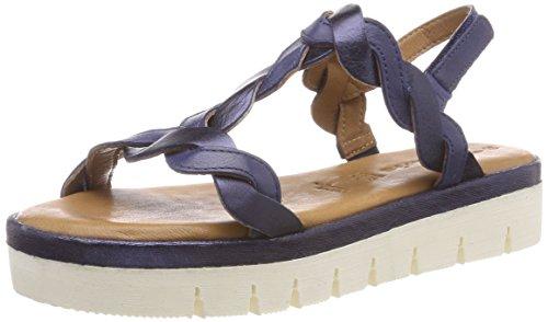 Back 995 Sandals 28716 navy Blue navy Tamaris Sling Women''s Met qwI55zt