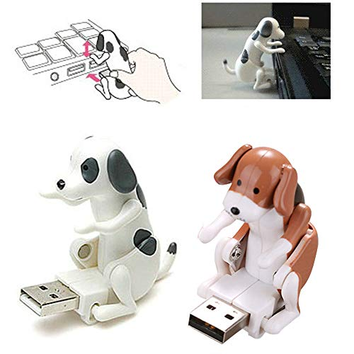 DICPOLIA Toys Electronic Spot Pet Dog Interactive Puppy - Robot Harry Responds to Touch, Walking, Chasing and Fun Activities USB Toy Relief Stress (White) ()
