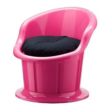 IKEA POPPTORP - Sillón con cojín, rosa, negro: Amazon.es: Hogar