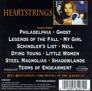 Heartstrings: Music From Philadelphia, Ghost, Legends Of The Fall... (Soundtrack Anthology)