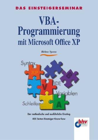 VBA-Programmierung mit Microsoft Office XP