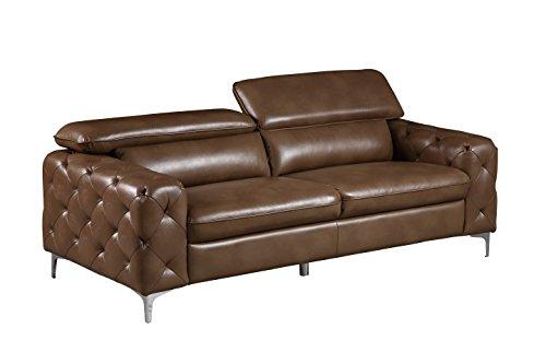 Global Furniture U8050 – DTP672/B – S Blanche Sofa, Walnut