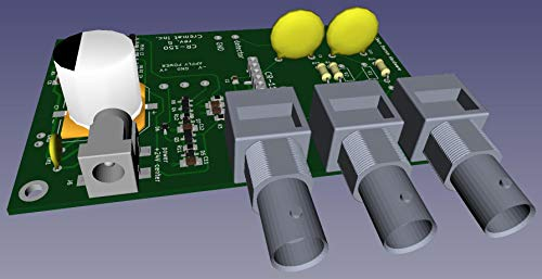 CR-150-R5 Evaluation Board for CR-11X Charge Sensitive preamplifier modules by Cremat Inc (Image #1)