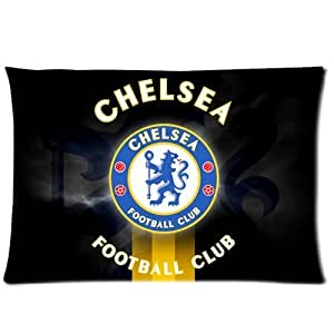 WXSTAR Soft And Comfortable Chelsea Fc Custom Zippered Pillow Cases 20x30 (Twin sides)