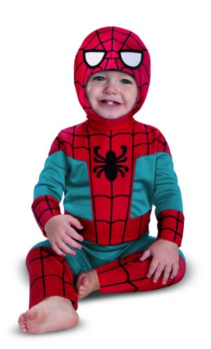 Disguise Costumes Marvel Spider-Man Kutie Infant, Blue/Red, 18 Months