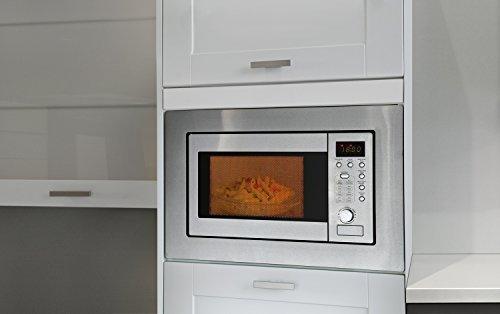 Bomann MWG 2215 EB empotrable de microondas con grill, 20 L ...