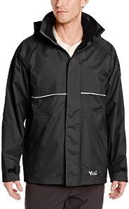 Viking Men's Journeyman 420D Nylon Jacket with Hood, Black, L